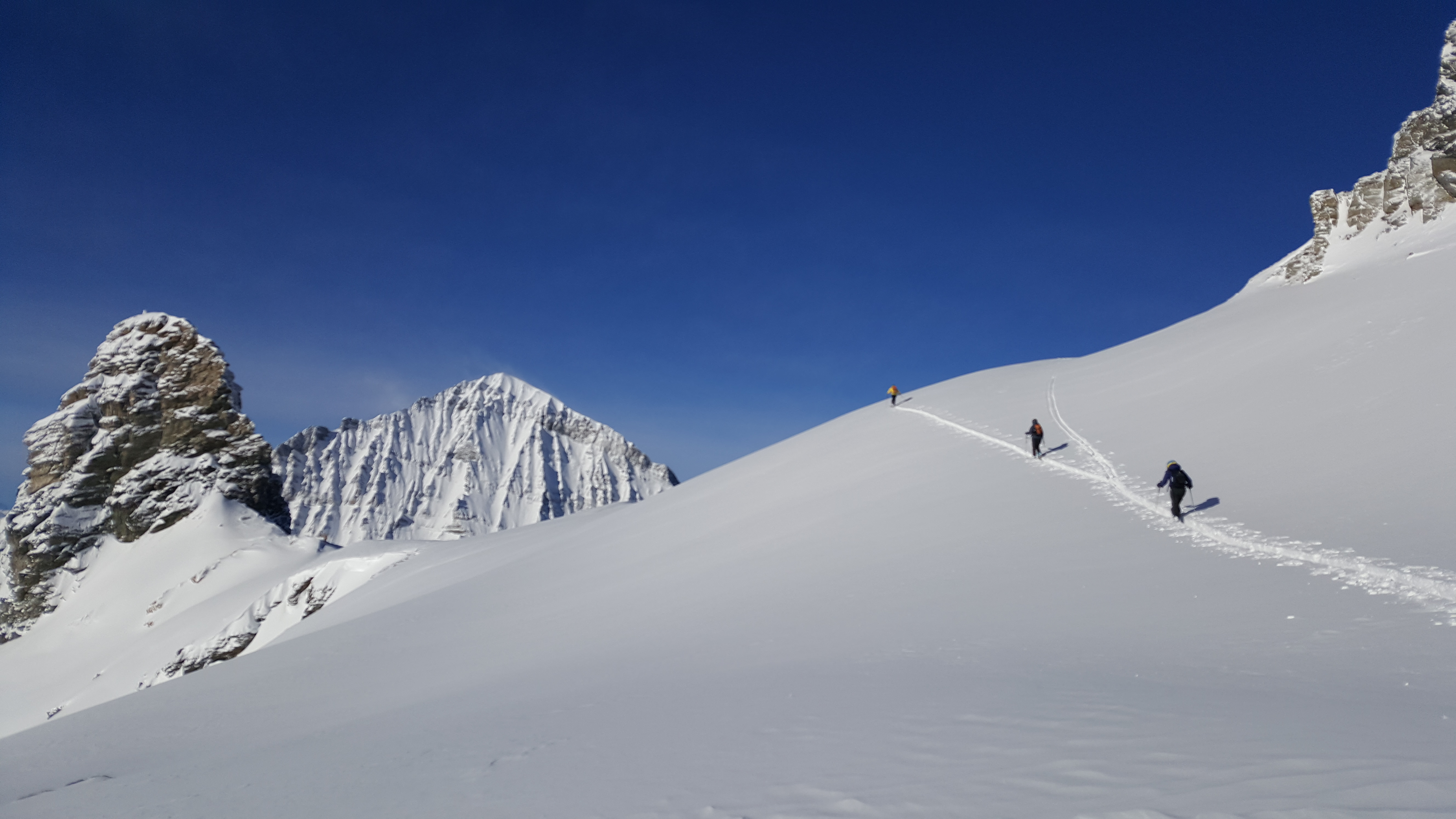 Zustieg Hockenhorngrat - Lötschenpasshütte
