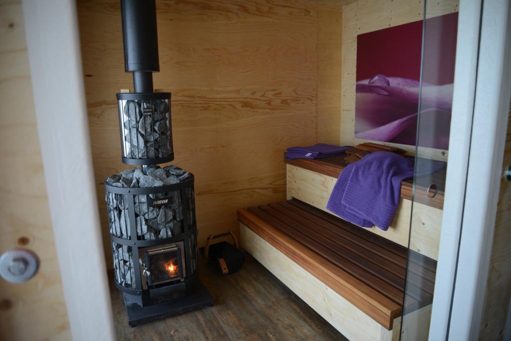 Sauna auf dem Lötschenpass